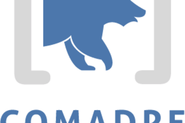 logo comadre vertical color